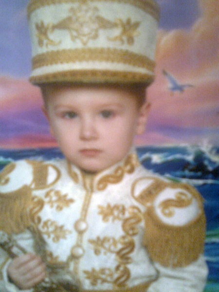 Эту фотографию Максима сделали в детском садике. Фото из семейного архива