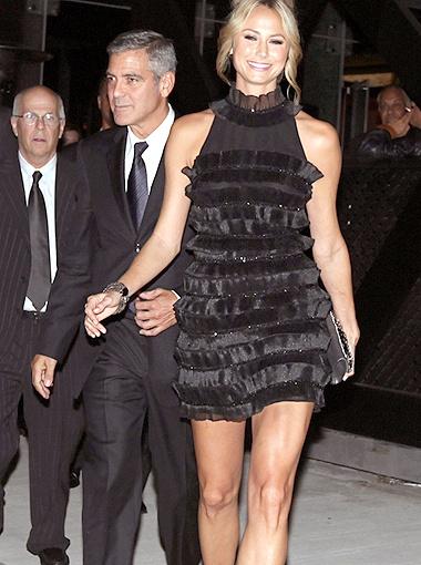 По словам гостей кинофестиваля, Стейси держится очень независимо - этим она и пленила Клуни. Фото Splash/All Over Press.