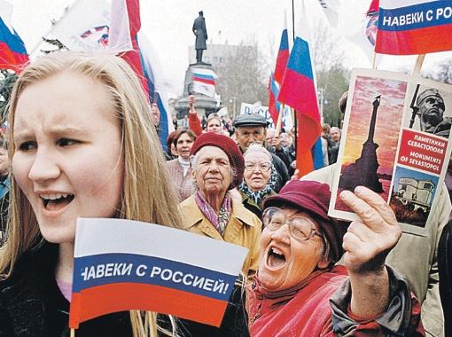 Пока политическая элита Киева мечтает о сближении с Евросоюзом, большинство простых украинцев уже все для себя решили - им по пути с Россией.