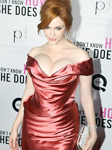 Кристину недаром называют самой сексапильной толстушкой Голливуда. Фото Splash/All Over Press.