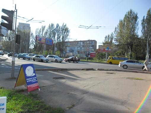 В районе Рембыттехники, столкнулись два автомобиля.