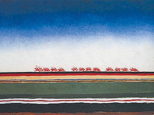 Скачет красная конница, не раньше 1928 года.