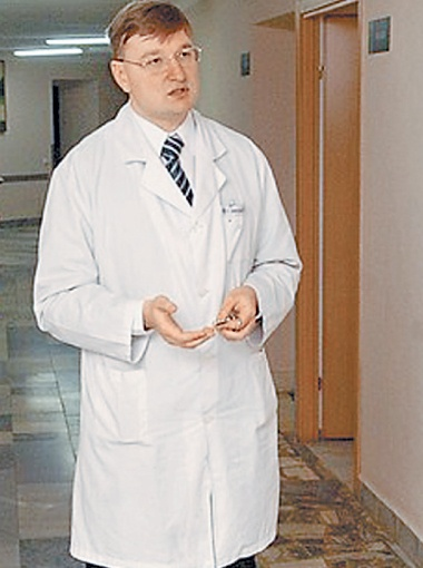 Директор Координационного центра трансплантаций органов, тканей и клеток МЗ Украины Руслан Салютин.