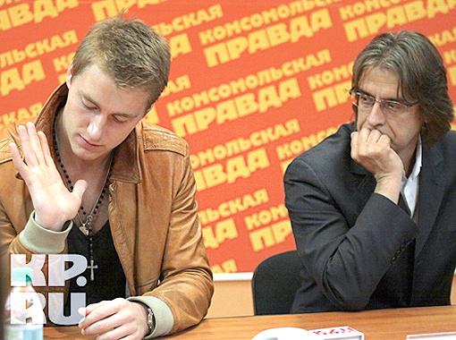 Актер Алексей Воробьев и продюсер фильма