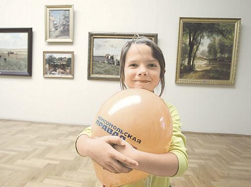 Праздник прошел в окружении полотен знаменитых художников: дети наслаждались искусством и веселились.