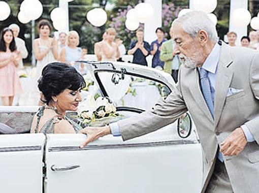 Раньше про Брегвадзе с Кикабидзе ходили разные слухи - и вот теперь в кино они наконец поженятся.