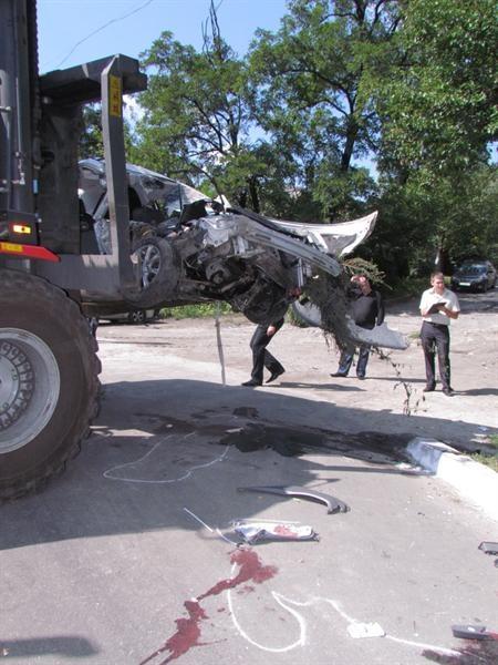 В момент аварии водитель был пьян.