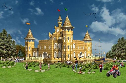 Александр Данильчук предлагает малышам путешествие по Музею сказок.