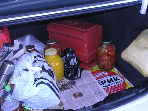 Багажник авто. Фото предоставлено пресс-службой Харьковской областной таможни.