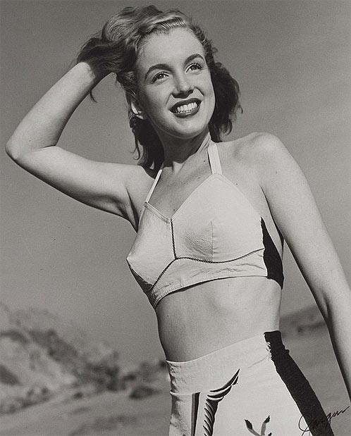 Это первые снимки Монро, сделанные фотографом-профессионалом