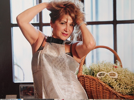 Жена мэра полгода не была в Киеве. За это время она заметно похудела. Фото из семейного архива.