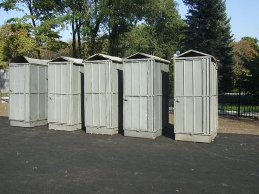Туалеты по своему