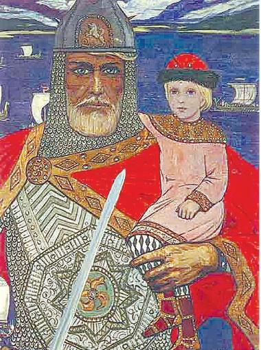 Путину не понравилась длина меча на картине