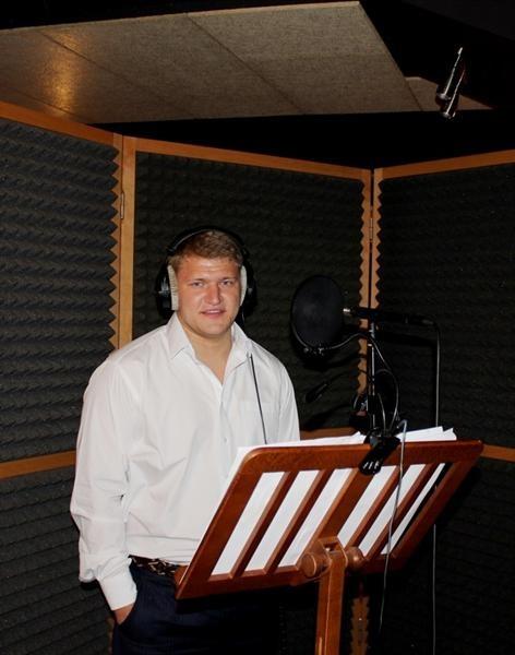 Кузнецов в студии.