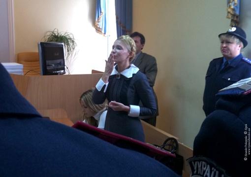 Тимошенко не надеется, что ее оправдают. Фото БЮТ