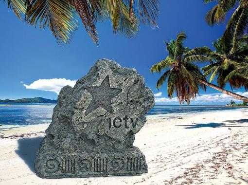Канал ICTV оставил свой след на экзотических островах.