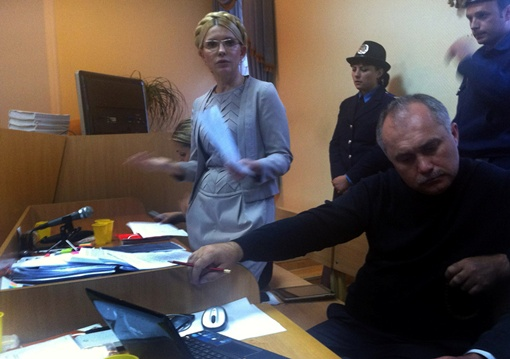Тимошенко не дали до понедельника подготовиться к последнему слову. Фото с сайта БЮТ