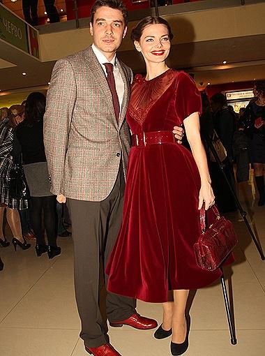 Лиза Борская и Максим Матвеев нарядились в стиле