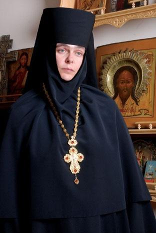Общественный деятель, депутат горсовета и настоятельница женского монастыря Матушка Серафима