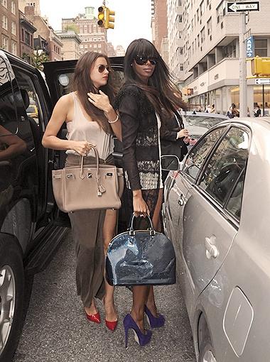 Ира и Джессика - закадычные подружки, даже платья ходят выбирать вместе. Фото Splash/All Over Press.