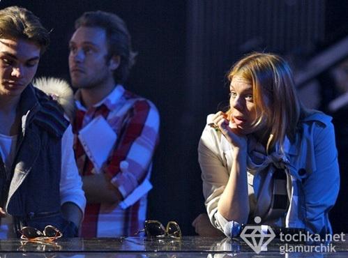 Артистка выглядела очень утомленной. Фото: tochka.net