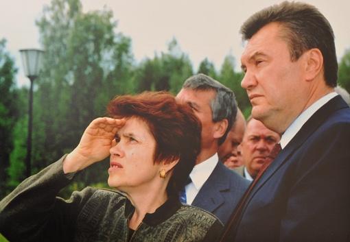 Людмила Янукович с супругом