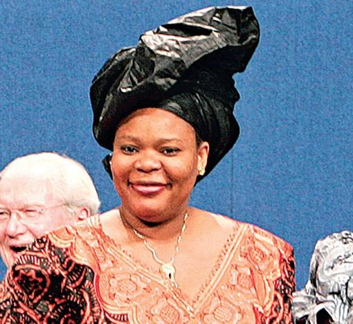 Лейма Гбауи из Либерии объединила мусульманок и христианок в борьбе за мир.