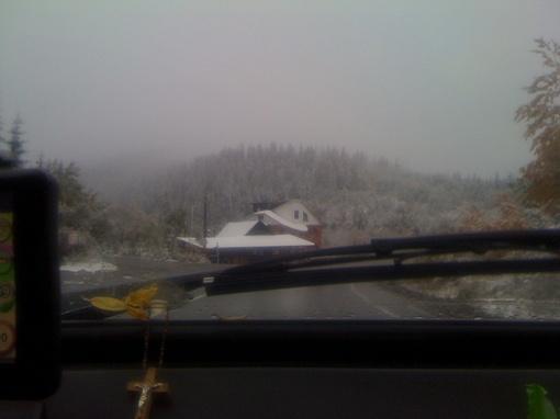 Вид из окна машины. Фото lara-kroftt.livejournal.com