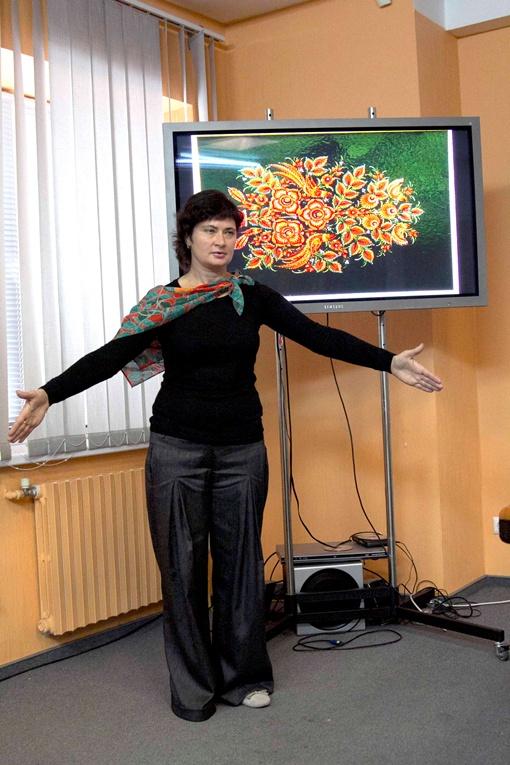 Работы Галины Назаренко отправятся из столицы
