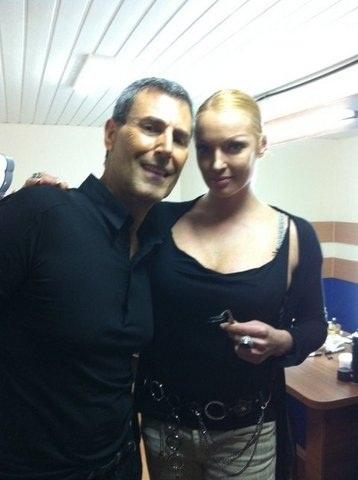 Анастасия и Ури. Фото с личной странички Волочковой в livejournal.com