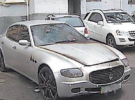 Автомобиль футболиста не первый раз попадает в неприятные истории. Фото с сайта like.lb.ua
