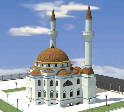 Проект мечети, г. Алупка.