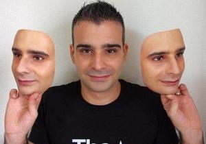 Японские ученые создали неотличимые от человеческого лица 3D-маски. Фото с официальной страницы Real-f в Facebook