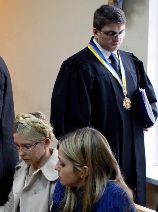 Юлия Тимошенко принесла славу судье Родиону Кирееву, правда, сомнительную. Фото Рейтер.