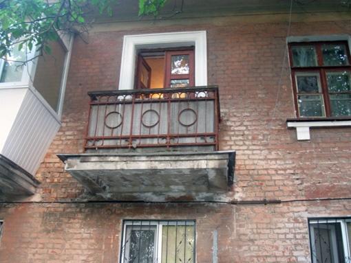 Балкон, ставший кладбищем для младенцев.