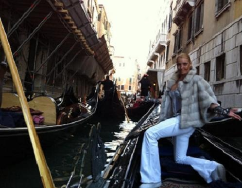В Венеции балерина была впервые. volochkova-a.livejournal.com