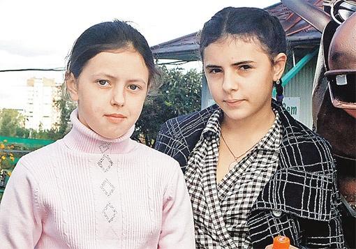Ириша (справа) и Анюта.