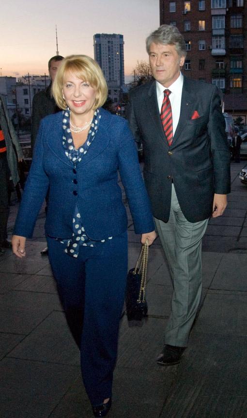 Почетный президент фестиваля Виктор Ющенко приехал на открытие вместе с супругой Катериной.