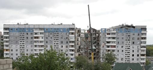 Место взрыва. Фото из архива