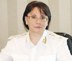 Прокурор области Наталья Марчук.