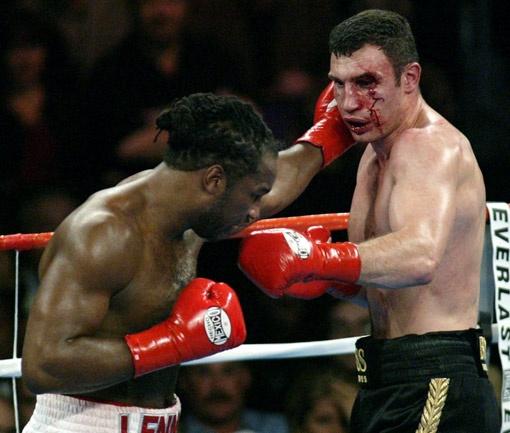Льюис верит, что победить Кличко в 2003-м ему помог магический ритуал выхода на ринг.
