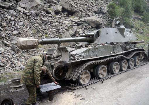 Доказательств того, что украинцы воевали в Грузии в 2008 году, так и не нашли.
