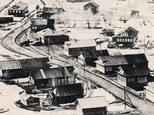 Деревня, где родился будущий академик.