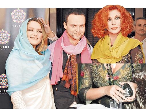 Руслан Квинта в окружении прекрасного: Натальи Могилевской и Ирины Билык. При все любви певицы к блеску, простое обручальное кольцо сразу бросалось в глаза.
