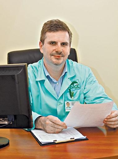 Кандидат медицинских наук Юрий Фломин.