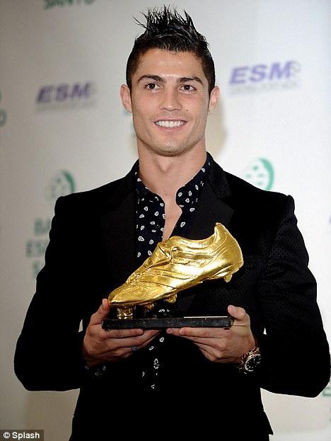 Роналду уже во второй раз становится обладателем
