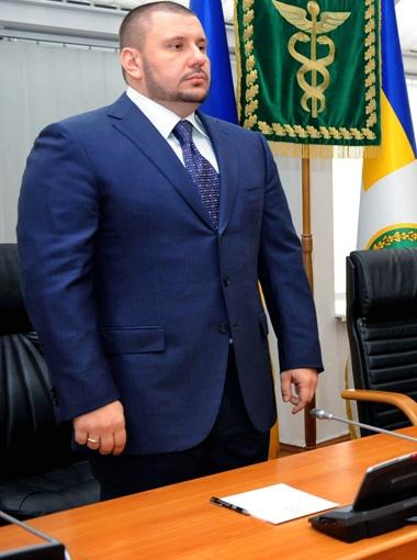 Александр Клименко стал самым молодым начальником налоговой за все годы украинской независимости. Фото Укринформ.