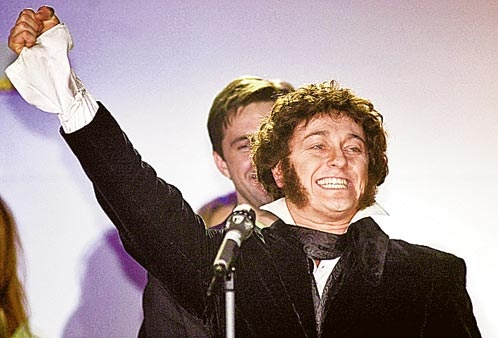 После Есенина актер взялся за Александра Пушкина - это был первый полнометражный фильм о гении. Фото: Владимир ВЕЛЕНГУРИН
