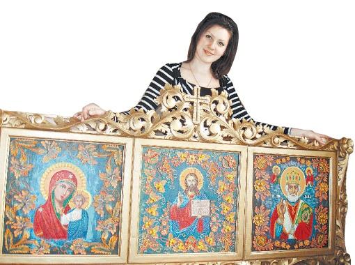 Мария Довгопола и ее удивительные образы.