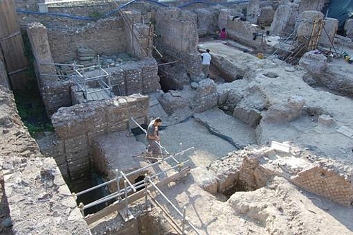 На Палатинском холме обнаружены остатки элитного дома